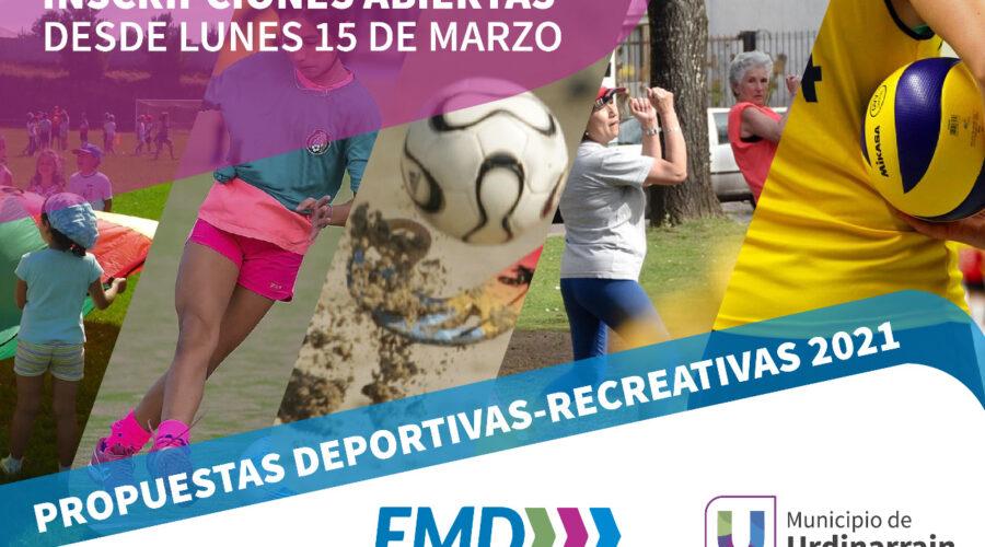 Talleres Deportivos 2021
